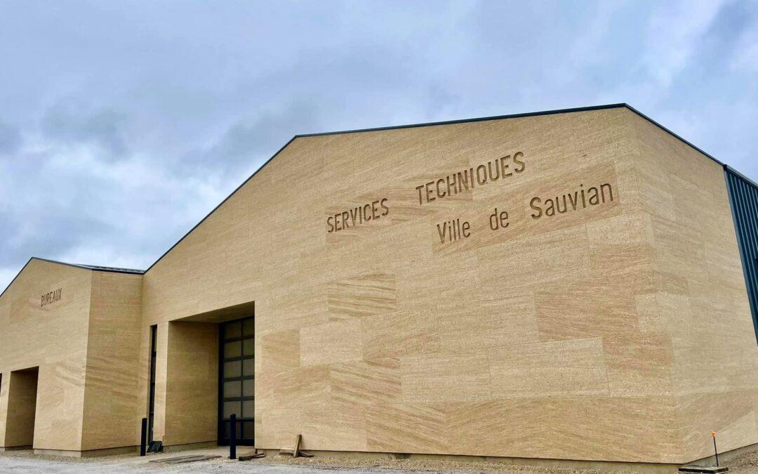 centre technique municipal : fin de construction