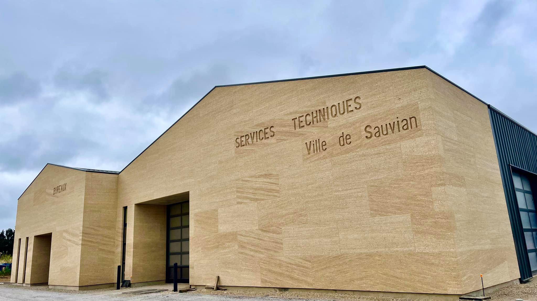 centre technique municipal Sauvian